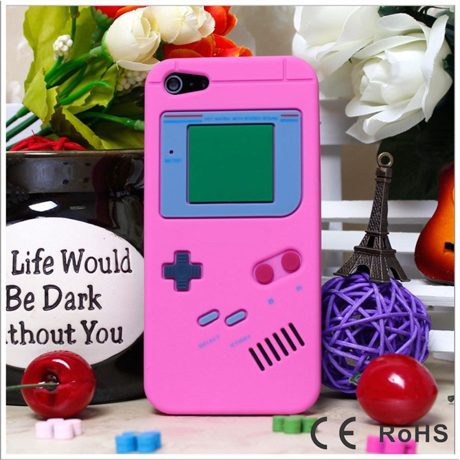 12 Colors Game Player Case For Coque iPhone 5 Case Soft Silicone Carcasa Vintage Funda For Capa Para iPhone 5 5s Cases Capinha