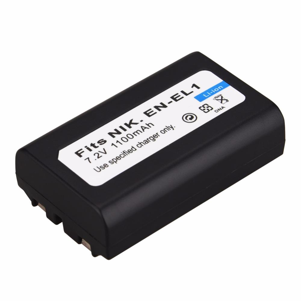 1x 1100mAh EN-EL1 Battery For Nikon Coolpix 500 775 880 885 990 995 4300 4500 4800 5000 5400 5700 8700 Minolta A200 DG5W Bateria - ANKUX Tech Co., Ltd
