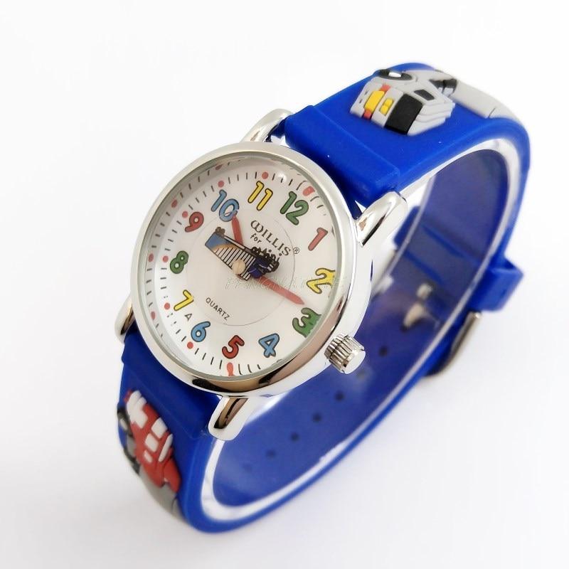 WILLIS Moda infantil Impermeable 3D Camión Diseño Analógico Reloj - Relojes para niños - foto 3