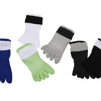 Man Toe Cotton Socks Casual Comfortable Men Winter Boat Socks Sweat Absorb Breathable Male Short Socks 3pairs/Lot