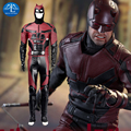 New Arrival Men's Daredevil Cosplay Costume Outfits Adult Mens Halloween Carnival Costume For Men Custom Made