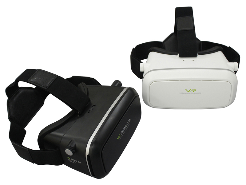 Hot sale Shinecon VR 360 Video Immersive Virtual Reality 3D VR Headset Google Cardboard Games Glasses