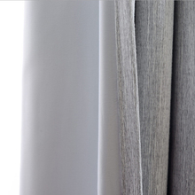 Thermal Insulated Blackout Curtains Solid Colors Cotton Drapes Hooks top Window shades Modern Bedroom Decorations Fringe