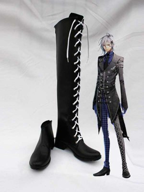 Amnesia IKKI Cosplay Boots Shoes Anime Party Cosplay Show Boots Custom Made for Adult Men Shoes
