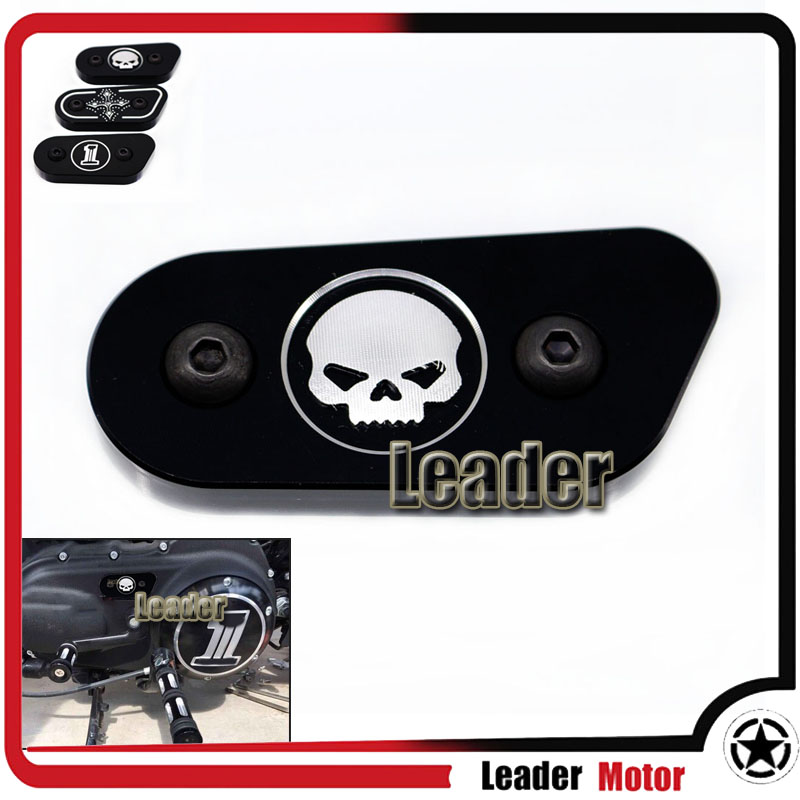 Hot Sale For Harley Sportster XL883 XL1200 2004-2012 Motorcycle Accessories CNC Aluminum Inspection Cover Black