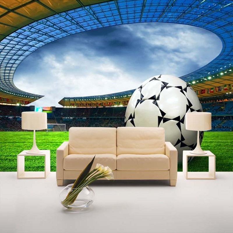 beibehang custom football wallpaper cartoon non-woven wallpaper background wallpaper the bedroom bedside World Cup theme site beibehang new children room wallpaper cartoon non woven striped wallpaper basketball football boy bedroom background wall paper
