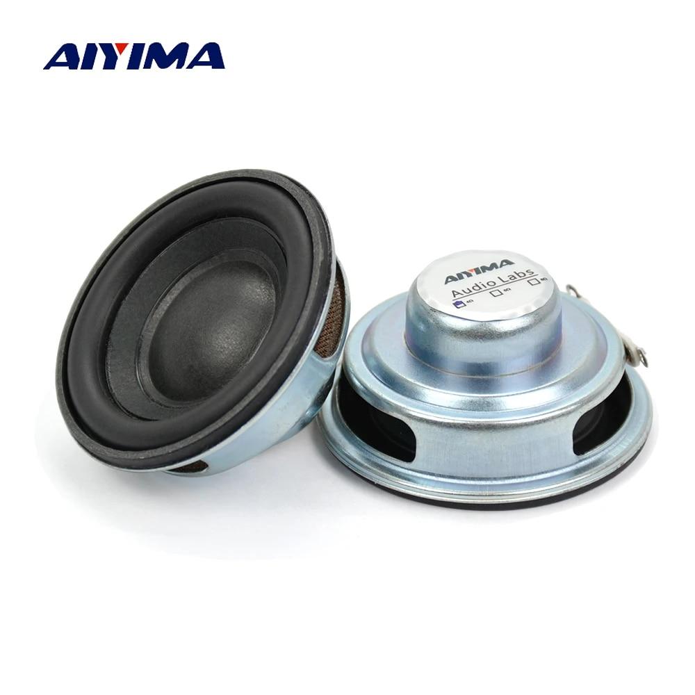AIYIMA 2Pcs Mini Audio Speakers 50MM 4 Ohm 5W Subwoofer Multimedia Portable  Speaker Sound Amplifier Loudspeaker DIY|speaker 4 ohm|4 ohmsubwoofer  loudspeaker - AliExpress