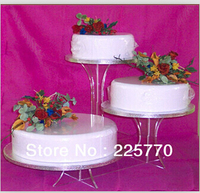 cake decorating tool/Clean 3 Tier Beautiful M Bracket Acrylic Wedding Cupcake Stands Pastry Display Shelf/sillicon