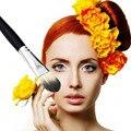Mujeres profesionales de Belleza Facial sintético compone el Cepillo Cosmético Cepillo de Base En Polvo mojado Belleza Herramienta Pincel pincel maquiagem