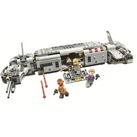 New Star plan Wars Advent Calendar Year 2018 Compatible Legoing The Sandcrawler building Block kid Toys