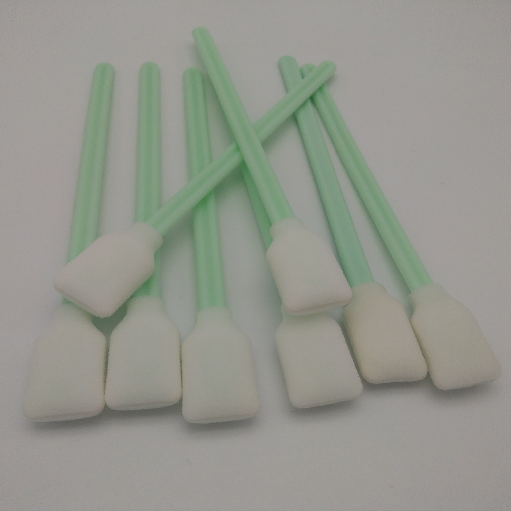 vilaxh 100Pcs Cleaning Swabs Sponge Stick For Epson/Roland/Mimaki/Mutoh Eco solvent printer Cleaning Swab mutoh vj 1604w rj 900c water based pump capping assembly solvent printers