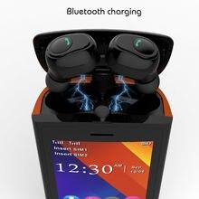 SERVO R25 2.8″ Mobile Phone 2SIM Card Bluetooth 5.0 TWS Wireless Earphones MP3 FM 6000mAh Power Bank GSM WCDMA GPRS Cell Phone