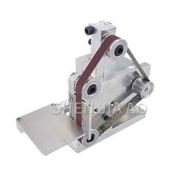 12/24V Mini Belt Machine DIY Polishing Grinding Machine Fixed Angle Sharpening Machine Mini Desktop Belt Polishing Machine 1PC