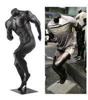 Best Large Muscle Mannequin Projects 3D Model Male Whole Body Sports Running Dummy Customized