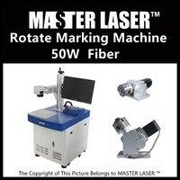 Lower Price 50W Fiber Portable 220V Input IPG Laser With DELL DESKTOP Computer Laser Engraver Engraving