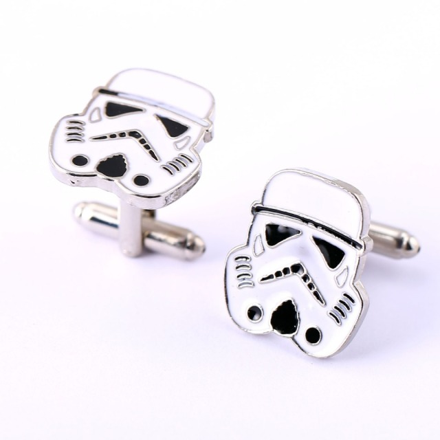 Stormtrooper Star Wars Cufflinks for Shirt