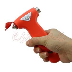 Image 4 - 1 PC romper vidrio de ventana martillo de emergencia de coche de equipo de seguridad cinturón de cuerda de herramienta de corte