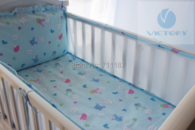 Hot Baby embroidered Suite Piece Baby Bedding Set is Tasted Suite Can Unpick and Wash Baby Bed Wai Fast Delivery