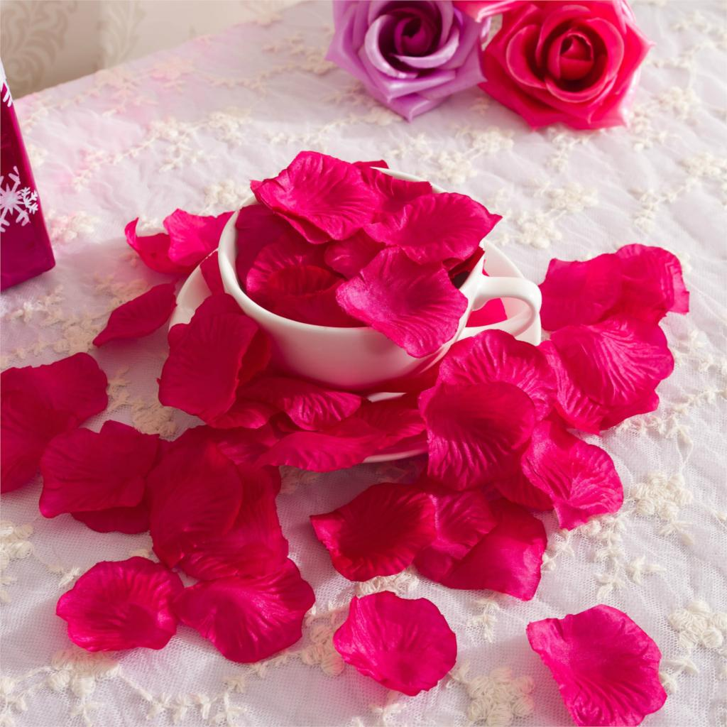 Wholesale 500packs Various Colors Silk Flower Rose Petals Wedding