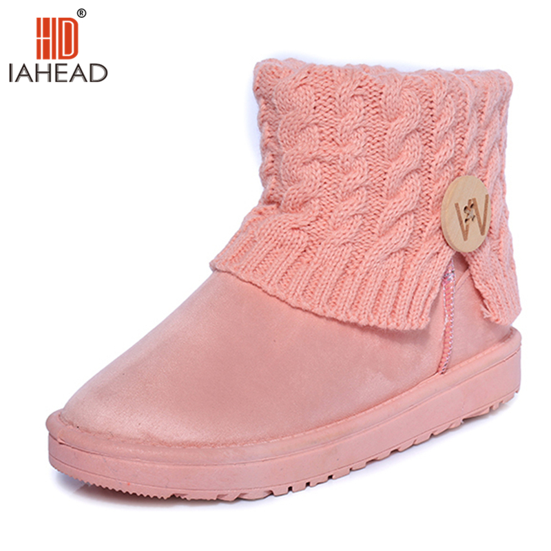 New Winter Women Shoes Ankle Snow Boots Fashion Womens Shoes Casual Warm Boots Normal size Slip On Wool Shoes UPC409 new fashion style snow boots winter fashion black brown warm fur women casual shoes on sale size 34 39