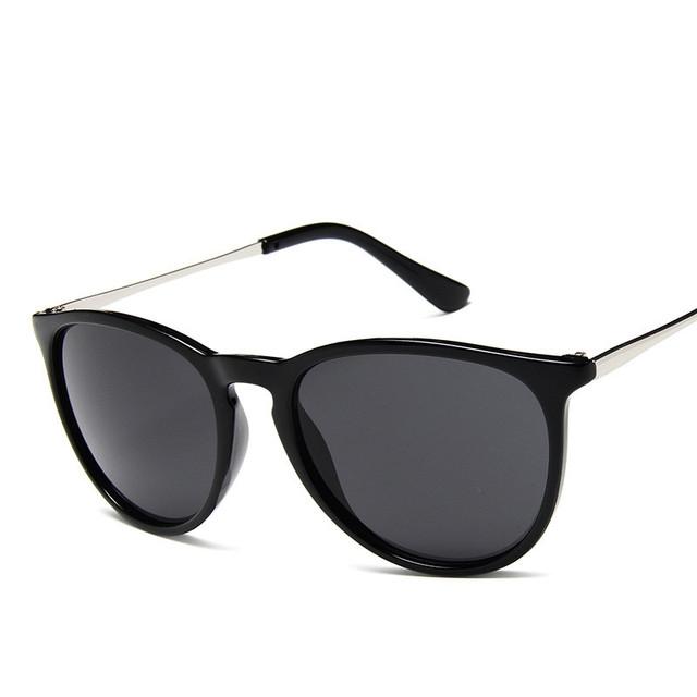 Vintage Cat Eye Sunglasses Women Brand Designer Erika Models Oculos De sol Feminino Rays Protection Mirrored Sun Glasses 4171