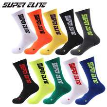 Basketball Socks Men Professional Sport Socks Running Outdoor Fluorescent Color Hiking Tennis Wicking Thicken Compression Socks vihir men professional compression breathable quick dry low cut outdoor sport socks running socks cycling hiking climbing socks