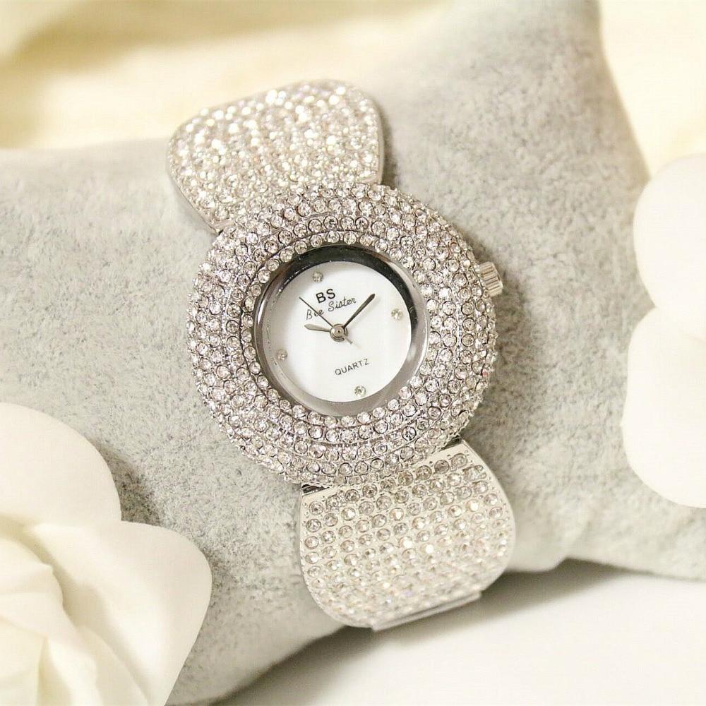 2018 Luxury Brand Gold Women Bracelet Watches Ladies Waterproof Fashion Bangle Dress Watch Women Clock Clock Relogio Feminino
