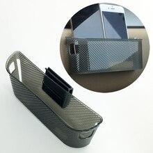 Universal Car Parts Storage Plastic String Bag Bin Cup Phone Mobile Gad