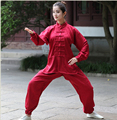 2017 New Tradition Chinese Style Women & Men Kung Fu Suit Tai Chi Clothing