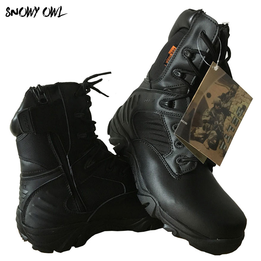 2018 New men hiking jacket field tactical boots outdoor training boots high boots Delta desert boots Z95 жакет непромокаемый микст на меху delta jacket