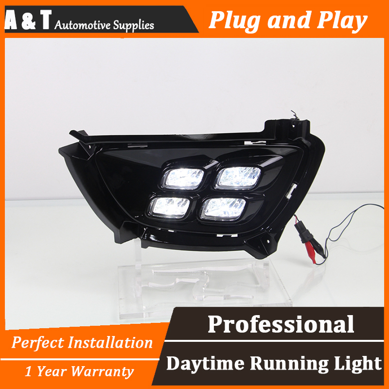 A T car styling For Kia Sportage R LED DRL For Sportage R led fog lamps