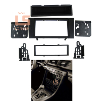 Car refitting DVD frame,DVD panel,Dash Kit,Fascia,Radio Frame,Audio frame for 2000 2004 Audi A4 ,2DIN 173*98MM