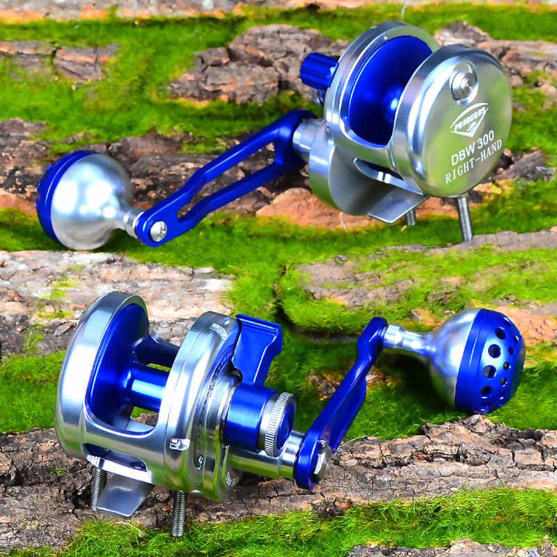 PRO BEROS Jigging Reel Aluminium Vissen Reel Righ Handl JIG REEL Max Slepen Zee Boot 16 kg & 19 kg trolling Reel