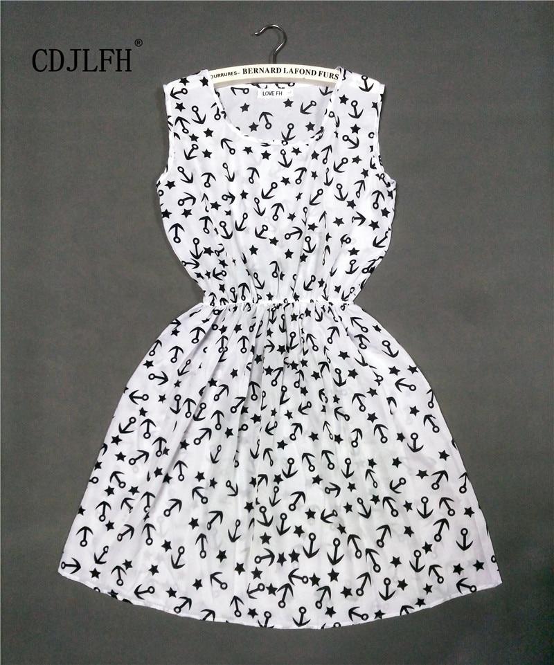2017 HOT new 20 Styles Women casual Bohemian floral leopard sleeveless vest printed beach chiffon dress NZ17