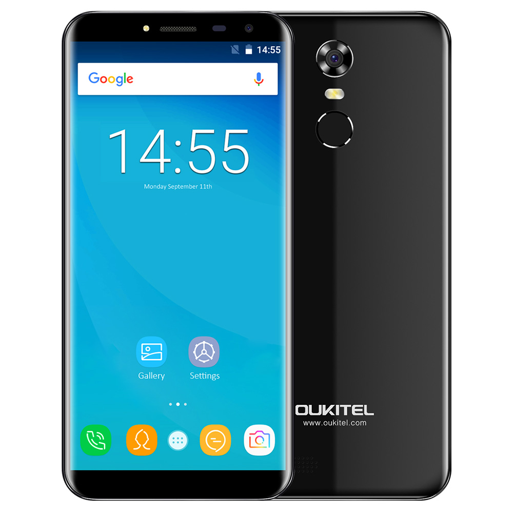 OUKITEL C8 4G Smartphone Android 7 0 5 0 Inch MTK6737 Quad Core 2GB RAM 16GB