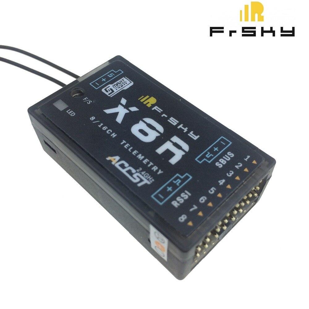 FrSky X8R 2.4 Ghz 8/16Ch S. BUS สมาร์ทพอร์ต Telemetry สำหรับ Taranis Q X7 X9D plus-ใน ชิ้นส่วนและอุปกรณ์เสริม จาก ของเล่นและงานอดิเรก บน AliExpress - 11.11_สิบเอ็ด สิบเอ็ดวันคนโสด 1