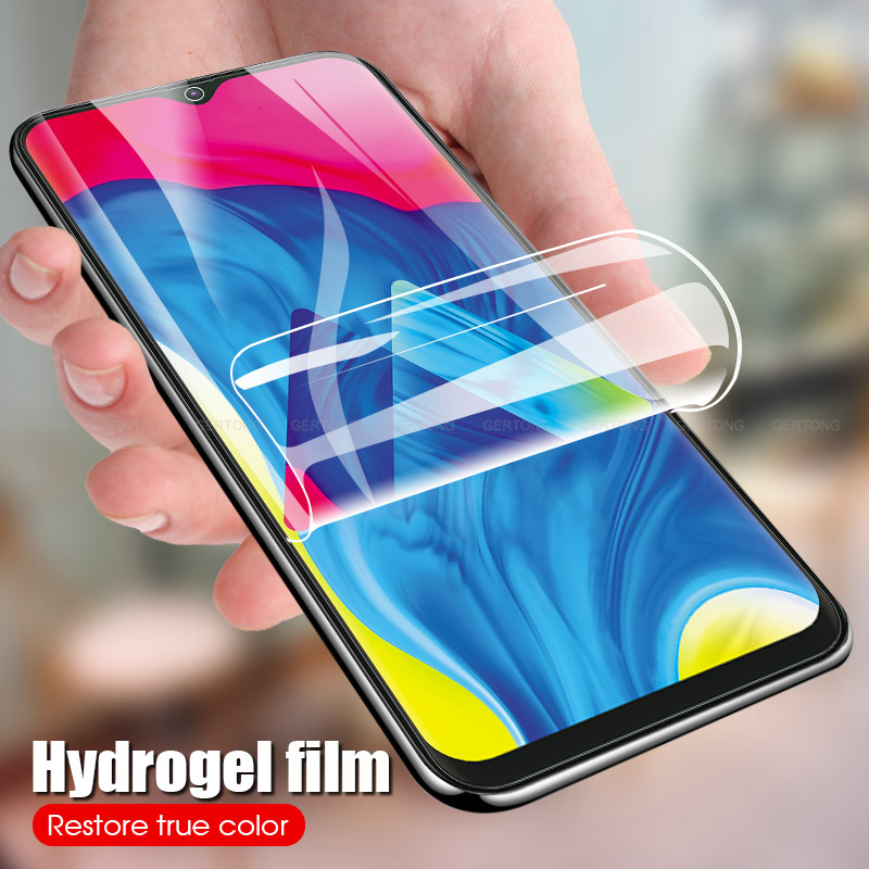 9D Full Cover Hydrogel Protective Film For Samsung A30 A50 Screen Protector For Samsung A70 A80 A90 A60 A40 A20 A10 Not Glass