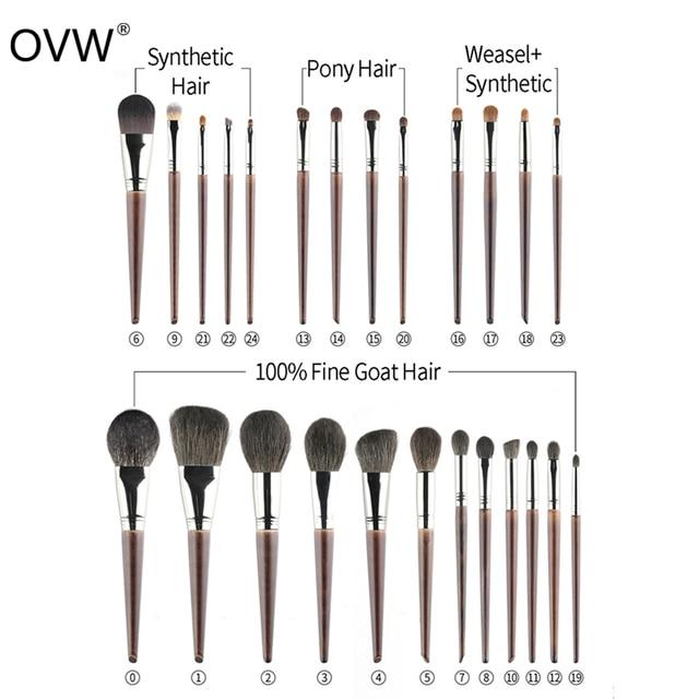 OVW 1Pcs Oblique Head Blush Makeup Brush Face Cheek Contour Cosmetic Powder Foundation Blush Brush Angled Makeup Brush Tools 6