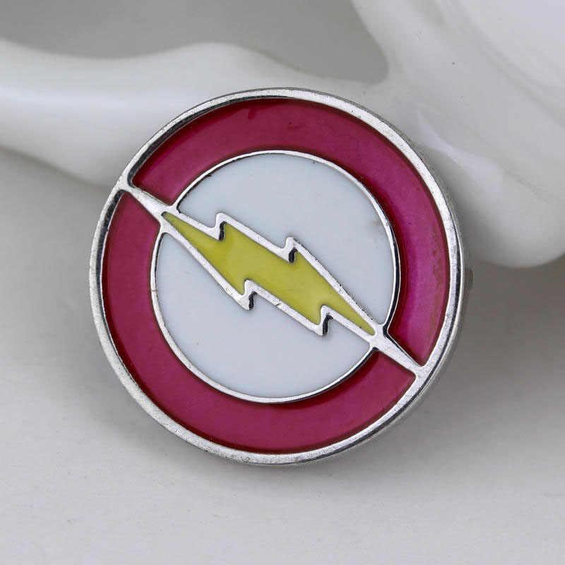 Film Deadpool Flash Panah Enamel Bros Lencana Kerah Pin untuk Pria Wanita Hadiah Souvenir