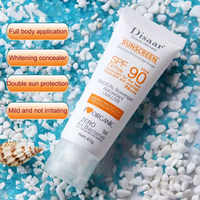 Sunblock Whiten Cream Waterproof Long Lasting Face Body Skin SPF90 Sunscreen @ME88