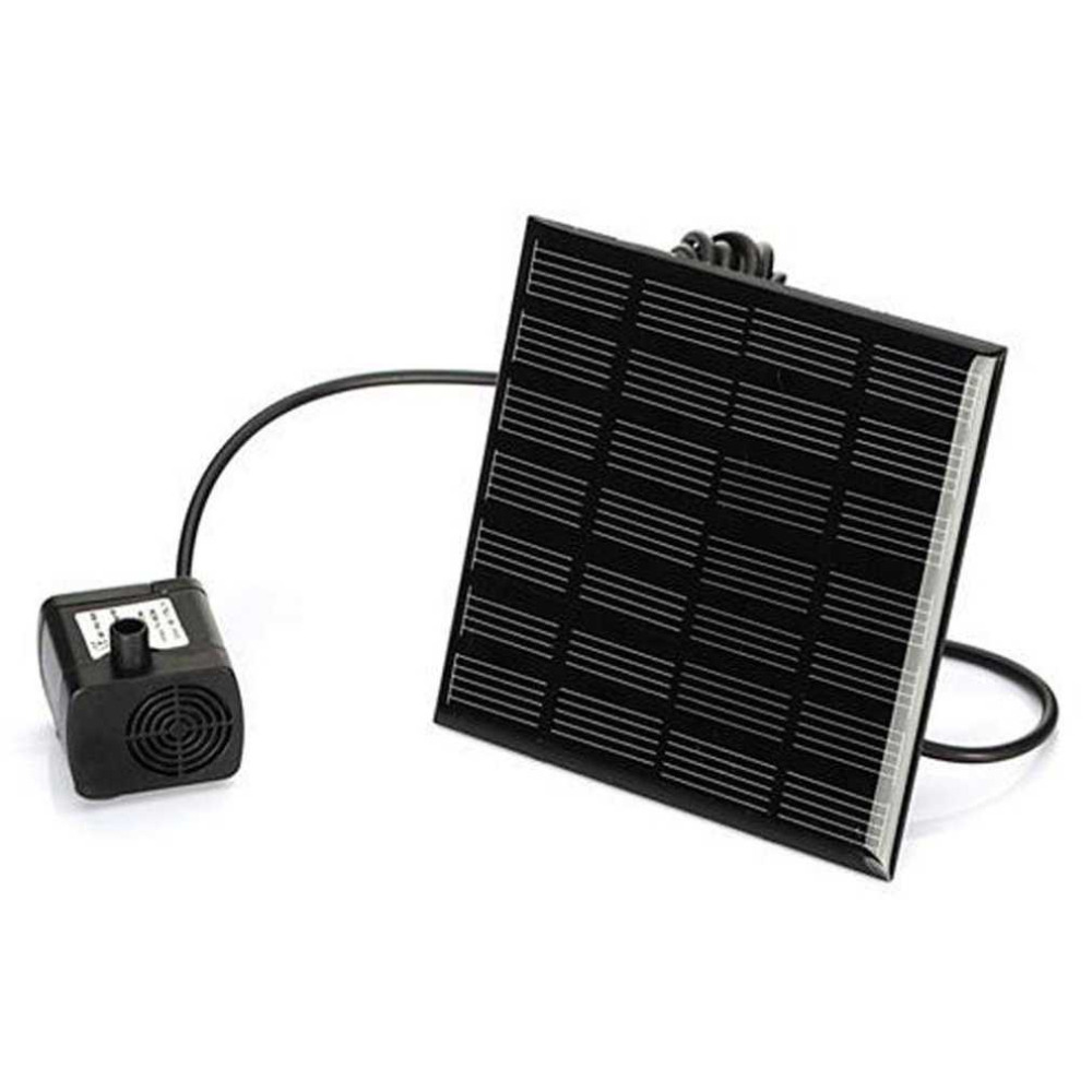Fashion Square Shape Solar Panel Water Pump Kit Fountain