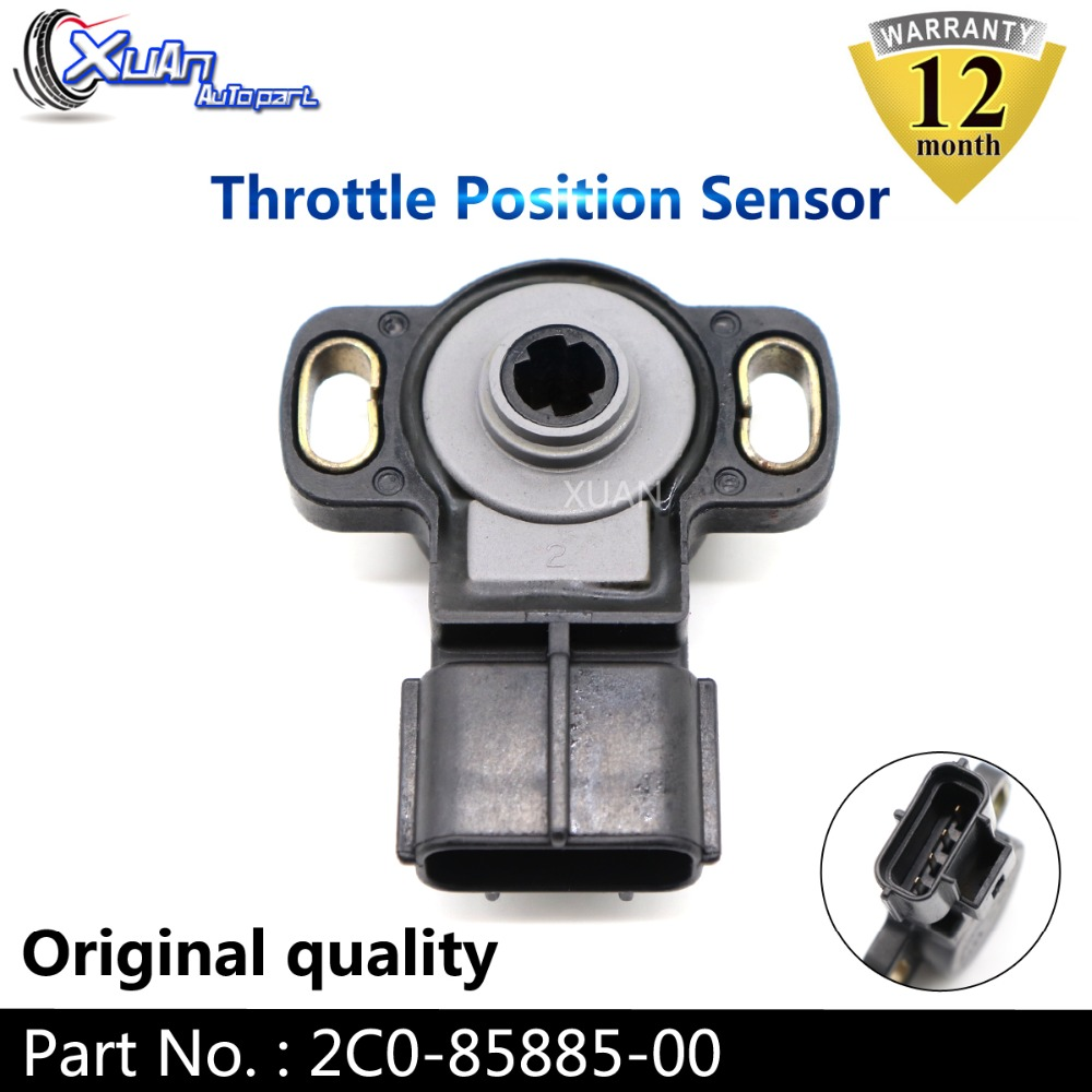 玄 2C0-85885-00-00 2C085885 2C0-85885-00 スロットルポジションセンサー Tps スイッチ互換ヤマハ R6 R1 2006 2007 2C08588500
