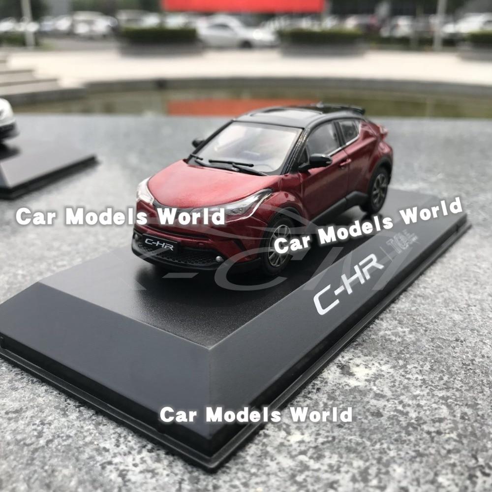 Red//Black Car Model Toyota C-HR CHR 1:18 SMALL GIFT!!!!!