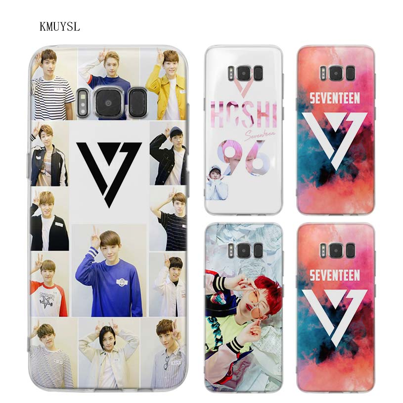 Cellphones & Telecommunications Temperate Kmuysl Seventeen Kpop Band Boy Tpu Transparent Soft Case Cover Shell Coque For Samsung Galaxy S9 S8 Plus S7 S6 Edge Phone Bags & Cases