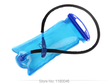 2L Blue Bicycle Mouth Bladder Water Bag Hydration Camping Hiking Climbing Freeshipping Dropshipping Wholesale