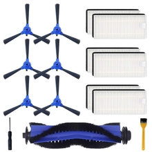 15 Pieces Replacement Accessories Kit For Eufy Robovac 11S,Robovac 30C,Robovac 15C,Robovac 30 Accessory,Robotic Vacuum Cleaner