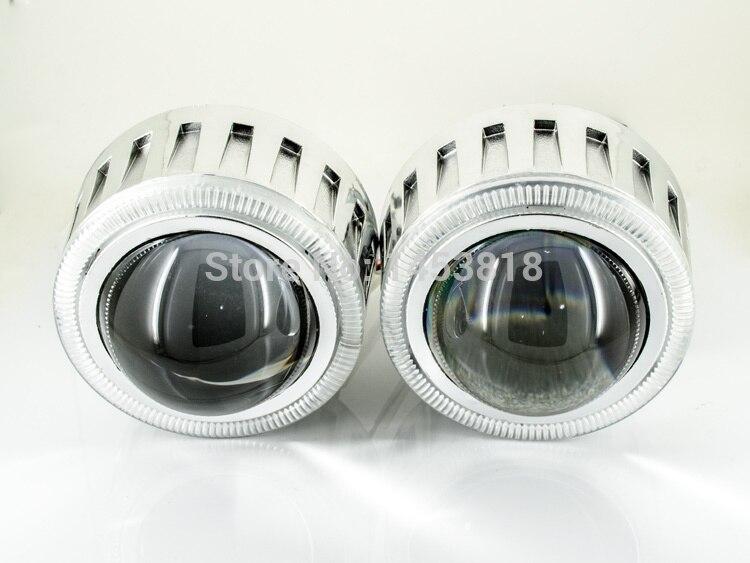 2.8HQT 35 w H4 H7 H1 H11 HB3 HB4 9004 9007 bleu blanc ange yeux 2.8 pouces bi projecteur expédition rapide ange yeux BIXENON