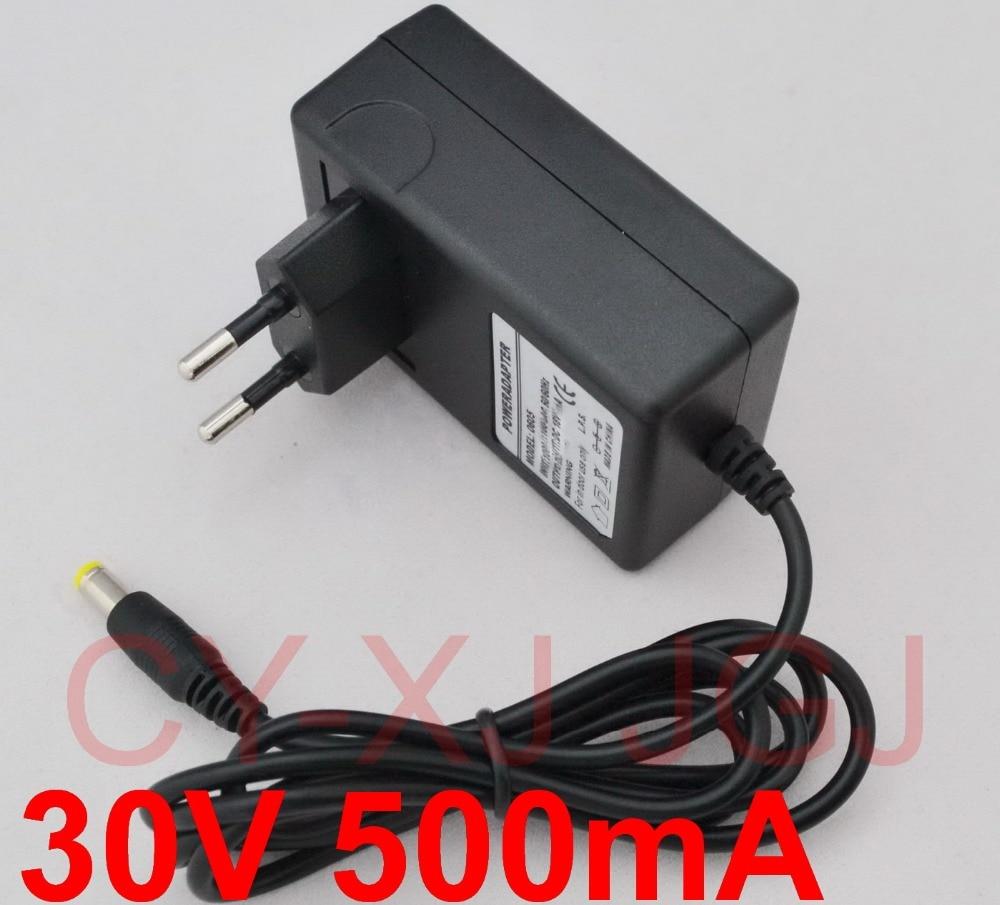 Адаптер преобразователя переменного тока 100-240 В, 30 в, 5,5 А, 2,1 мА, 1 шт.