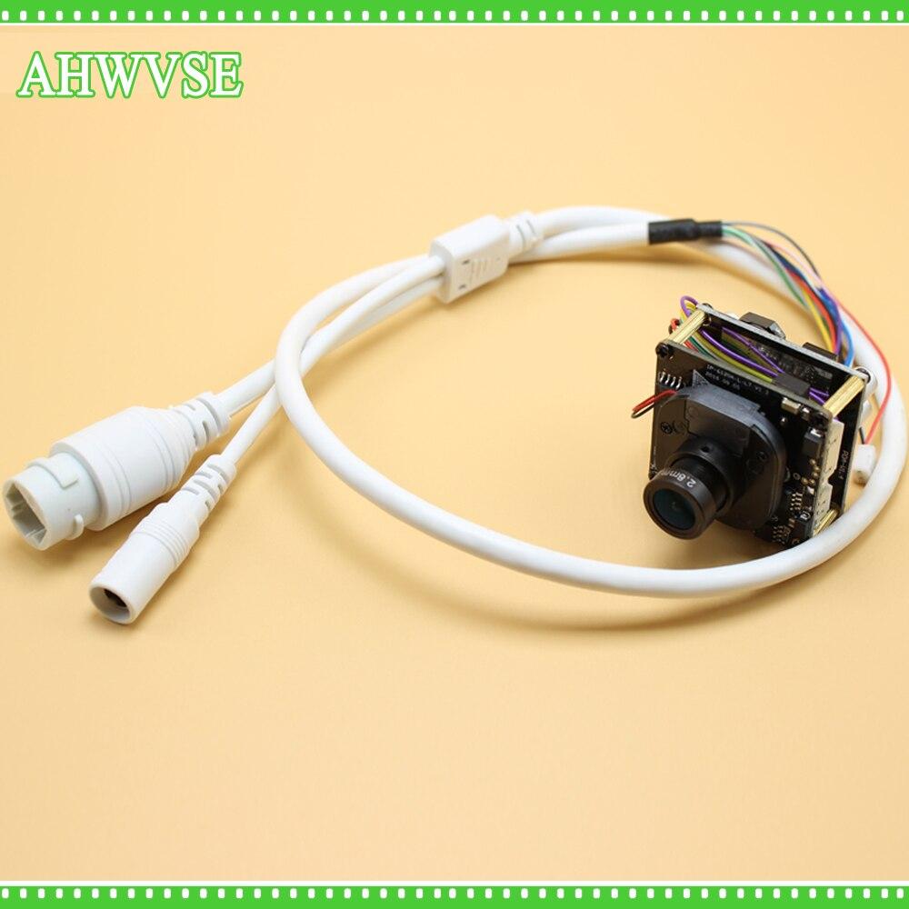 Livraison Gratuite H.265 POE IP Caméra Module Conseil 1080 P IRCUT CCTV Serveillance Caméra Onvif P2P POE Mini IP Caméra Module