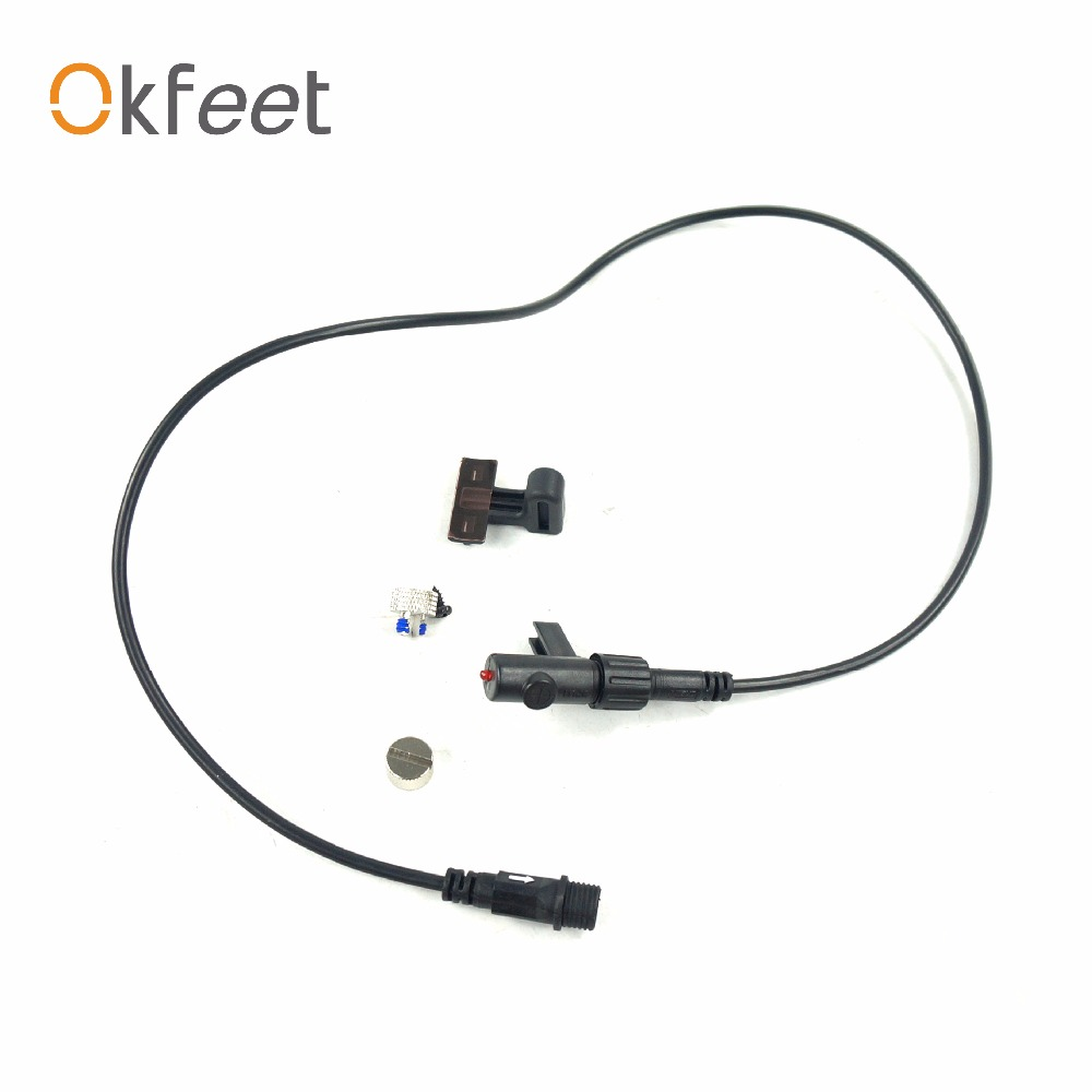 Okfeet Bafang 70cm middle motor mid drive speedo extension